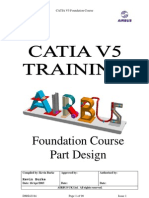 Airbus Catia V5 Part Design
