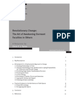 Resolutionary Change the Art of Awakening Dormant Faculties