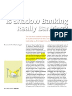 B. is Shadow Banking Really Banking