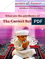 What are the attributes of the correct religion.pdf