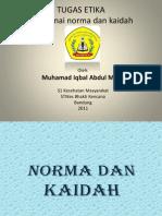 Muhamad Iqbal a.M (S1 Kesehatan Masyarakat)