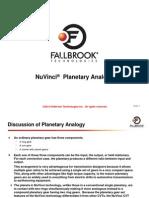 Nu Vinci_Planetary Summary PPT
