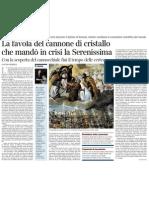Un Romanzo Sul Declino Di Venezia - Corriere Della Sera 29.12.2012