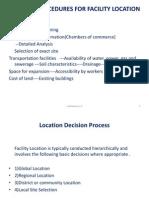 location decisions