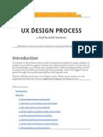 Design Process Draft