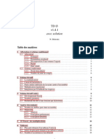 TD algorithme avec Corrections