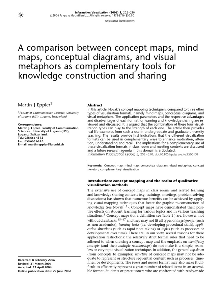 advantages of concept mapping in teaching