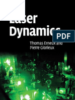 Laser Dynamics - T. Erneux, P. Glorieux (Cambridge, 2010) BBS
