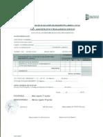 Ficha consolidado de eveluacion de desempeño laboral anual para administrativo y trabajador de servicio