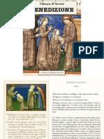 Benedizione di Chiara di Assisi