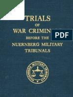 Nuremberg Tribunal Green Series 13