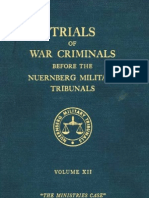 Nuremberg Nuremberg International Military Tribunal Green Series V 12