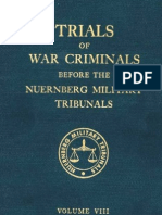 Nuremberg Nuremberg International Military Tribunal Green Series V 8