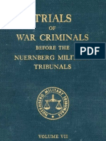 Nuremberg Nuremberg International Military Tribunal Green Series Vol  7
