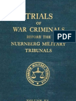 Nuremberg Tribunal Green Series 15