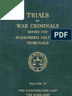 Nuremberg International Military TribunalTribunal Green Series 4