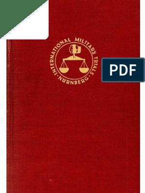 Nuremberg International Military Tribunal Red Series 3
