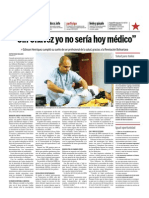 Sin Chávez yo no sería hoy médico