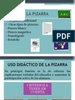 Diapositivas de La Pizarra y El Cartel
