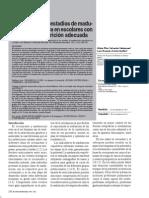 APARICIÓN DE LOS ESTADIOS DE MADURACIÓN ESQUELÉTICA EN ESCOLARES CON SOBREPESO Y NUTRICIÓN ADECUADA