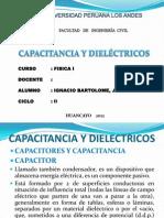 Capacitancia y Dielectricos