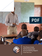 Peace Corps Performance and Accountability Report 2012