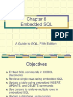 Cobol Embedded Example