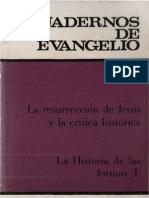 Cuadernos de Evangelio 19 La Resurreccion de Jesus y La Critica Historica