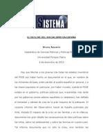 El declive del PSOE