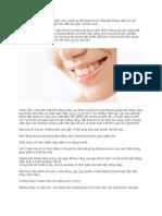 Để có hàm răng trắng và khỏe mạnh