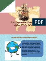 EXPANSIÓN ULTRAMARINA EUROPEA