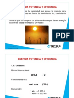 Energia Potencia Eficiencia