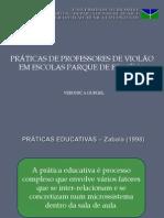 PRÁTICAS DE PROFESSORES DE VIOLÃO EM ESCOLAS PARQUE