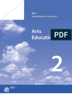 Saskatchewan Arts Education 2011 - 2