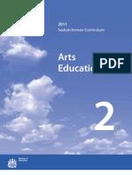 Saskatchewan Arts Education 2011 - 2