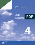 Saskatchewan Arts Education 2011 - 4