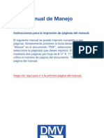 Manual conductor clase b 2