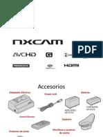Tutorial para Cámara  Sony NXCAM.