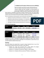 120930 Syllabus Principles of Economics i Jeb101 and Principles of Microeconomics Jpm322