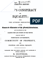 History of Babeuf's Conspiracy for Equality