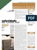 Paróquias de Azeitão   Boletim Paroquial