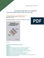 La revolución contemporánea del saber y la complejidad social - Pedro Sotolongo y Carlos Delgado.