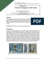 Lightning Protection for Equipment on MV feeders