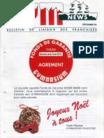 42 /GYM NEWS Décembre 1994