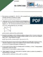 Mate.info.Ro.2123 s u b i e c t e Admitere Politehnica 2012 - Fizica