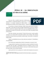Volume 02 - CapÍtulo III - Da PericlitaÇÃo Da Vida e Da SaÚde