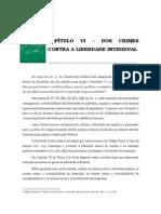 Volume 02 - CapÍtulo Vi – Dos Crimes Contra a Liberdade Invididual
