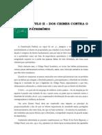 Volume 02 - tÍtulo II – Dos Crimes Contra o PatrimÔnio