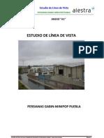 Reporte Elv Comercializadora de Persianas Gabin-mini Pop Puebla