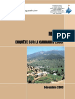 Morocco cannabis survey 2003